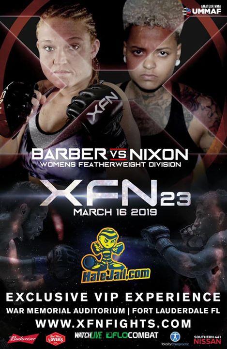 XFN 23 Fight March 16