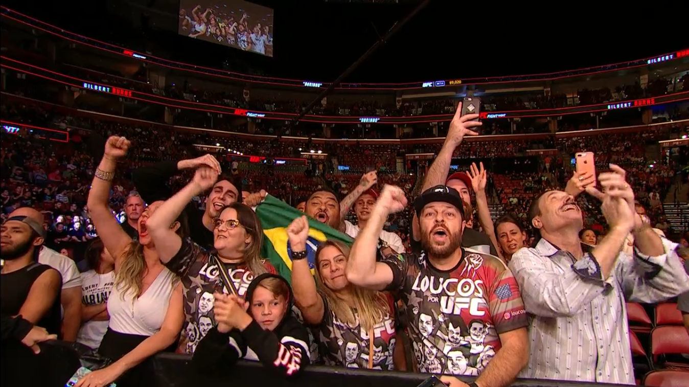 UFC Florida Fans