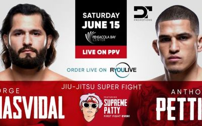 "Jorge Masvidal vs Anthony Pettis ""Pensacola Bay Center"""