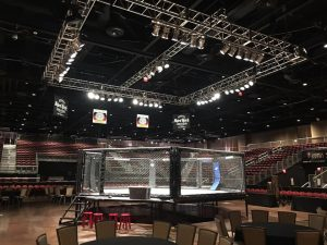 mma rental cage