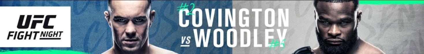 9/19 Fight Night - Covington vs. Woodley